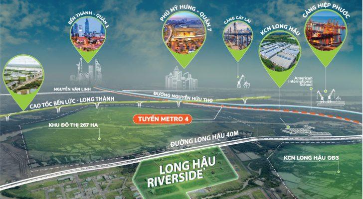 điểm nổi bật dự án Long Hậu Riverside